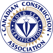 Logo: Canadian Construction Association Gold Seal